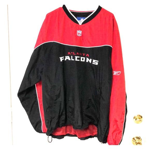 82d7a9bb official NFL ATLANTA FALCONS pullover